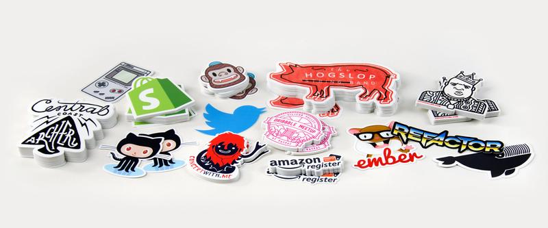 renkli stickerlar, sticker örnekleri, sticker yapımı